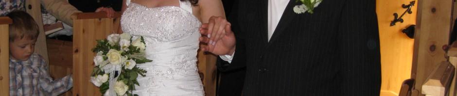 Bryllup i Rossbu kapell